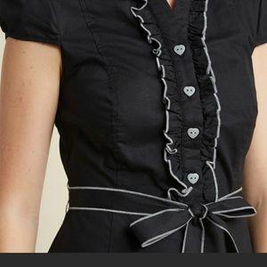 Aspiring Actress Dress Black ModCloth